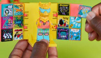 LEGO minifigure DJ Llama