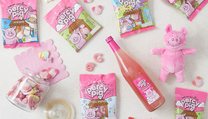 Percy Pig, Marks and Spencers