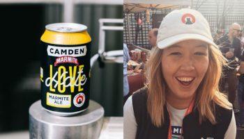 Ashleigh Amos, Camden Town Brewery, Marmite