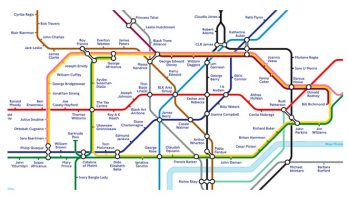 Transport for London, Black Cultural Archives, Black History Tube Map